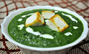 recipe for palak paneer