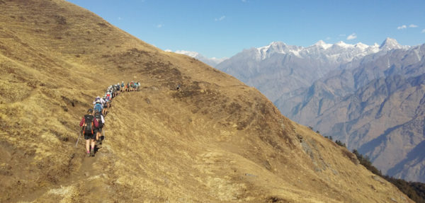 Auli Trekking is breathtaking