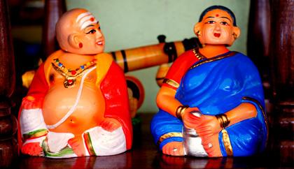 Channapatna Wooden Dolls