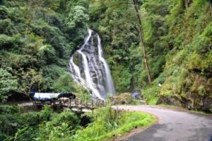 Khangchendzonga waterfall
