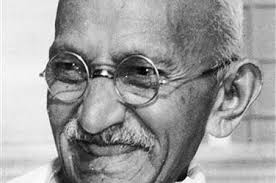 Gandhiji - All smiles