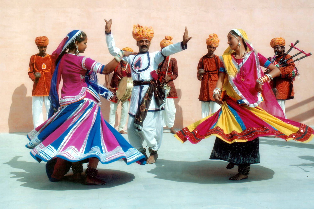 Colorful Folkart of Rajasthan