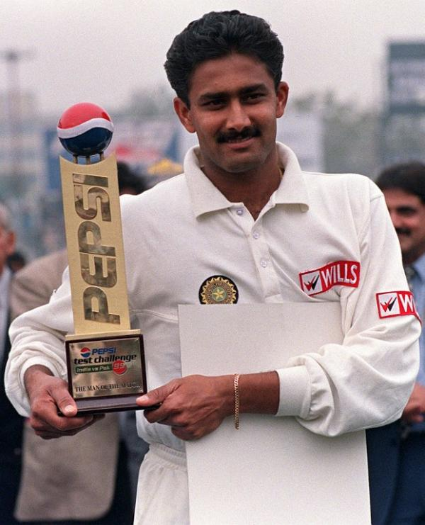 "Anil Kumble - The ""Jumbo"" of Indian Cricket"