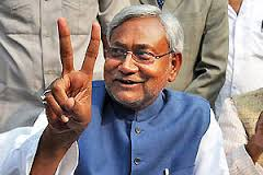 Nitish Kumar ascends Bihar throne