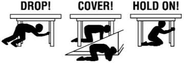 Earthquake? Protect yourself