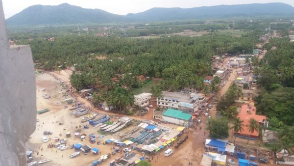 View from the top of Gopuram