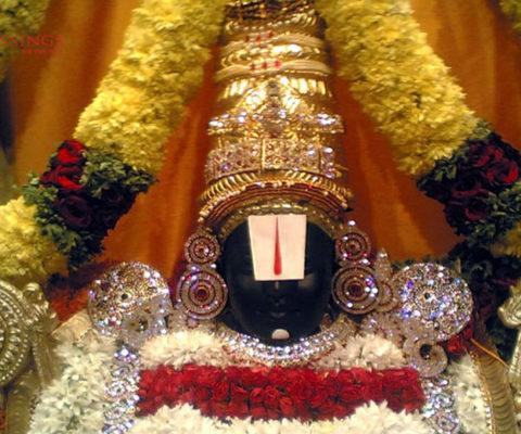Srinivasa in all his glory
