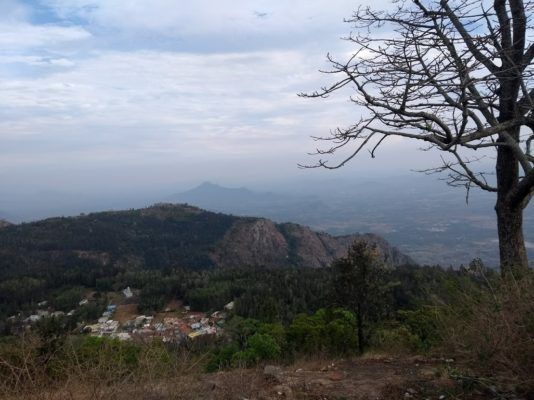 Yercaud from Pagoda View Point