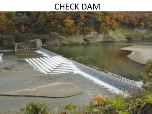 Check Dam which can revive the Rivers
