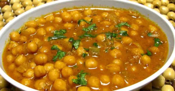 Spicy Channa Masala