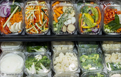 Packed Veggies Ready to Eat