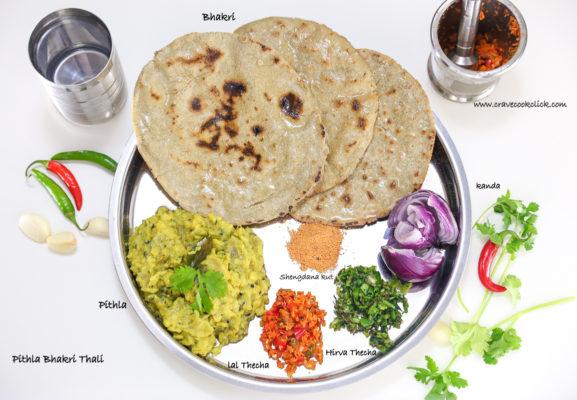 Pithla- Bhakri