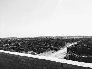 Ruins which have stories hidden